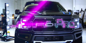 Ford Raptor protected with Ceramic Pro!