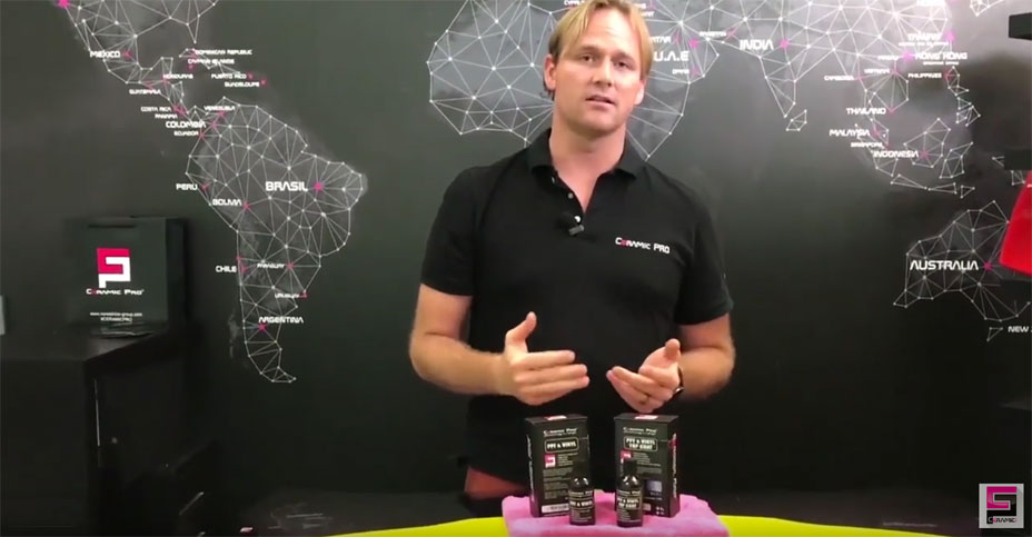Learn how ceramic Pro protects vinyl surfaces