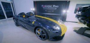 Video- KAVACA Ceramic Coated PPF Installed on a Ferrari Monza SP2
